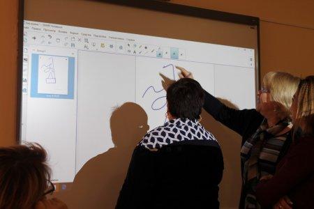 Делай себя (Терентий Травникъ). Мы делали себя через развитие навыков работы с интерактивной доской